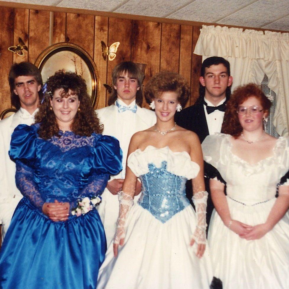 Winter Formal 80s Prom Dress 80s Prom Prom Style [ 978 x 978 Pixel ]