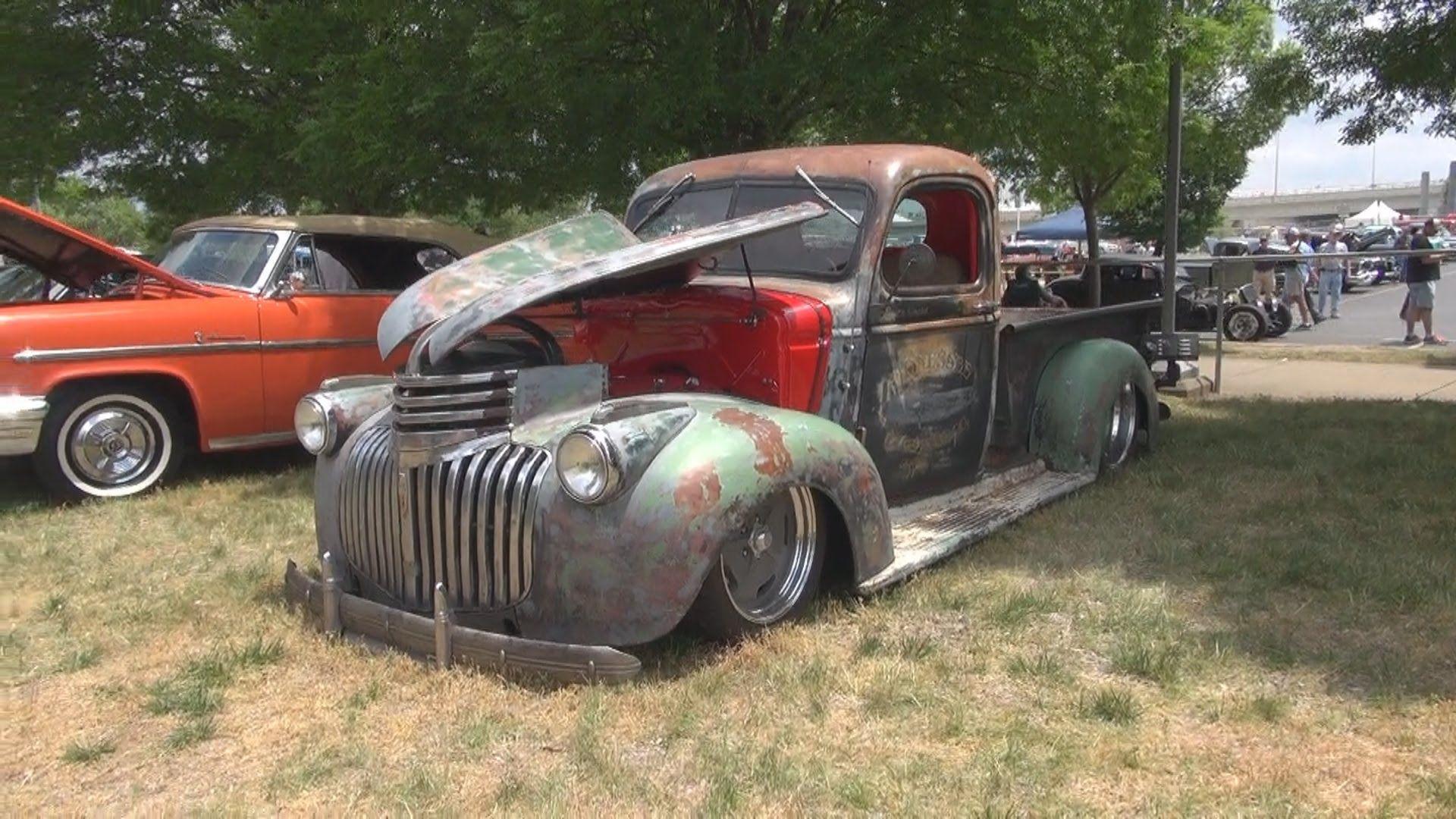 1941 Chevy Rat Rod Pickup Truck W Ls7 2015 Goodguys Nashville Classic Chevy Trucks Rat Rod Pickup Trucks