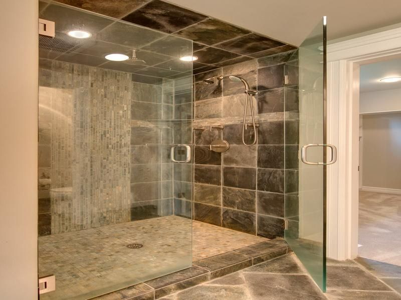19 best images about shower tile design on pinterest double shower traditional bathroom and blue bathrooms - Walk In Shower Tile Design Ideas
