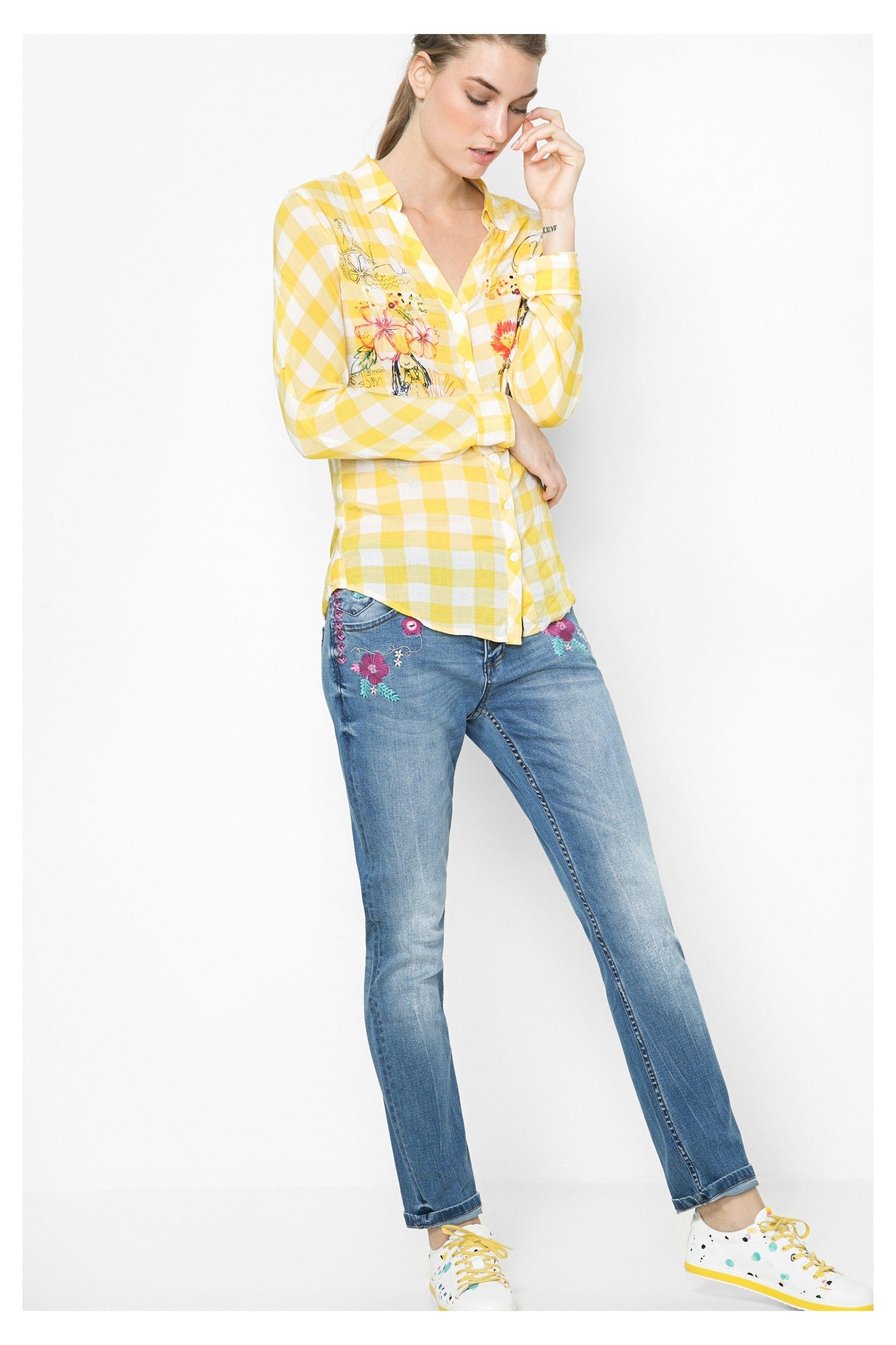 7ca7b6167 Pin de Mymalena Style en WE LOVE DESIGUAL | Camisas, Camisa de ...