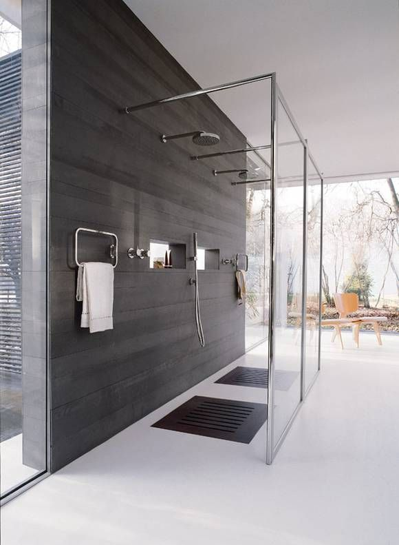Contemporary Open Shower Design, Côté Sud Aout Sept Edited By Lb Foru2026
