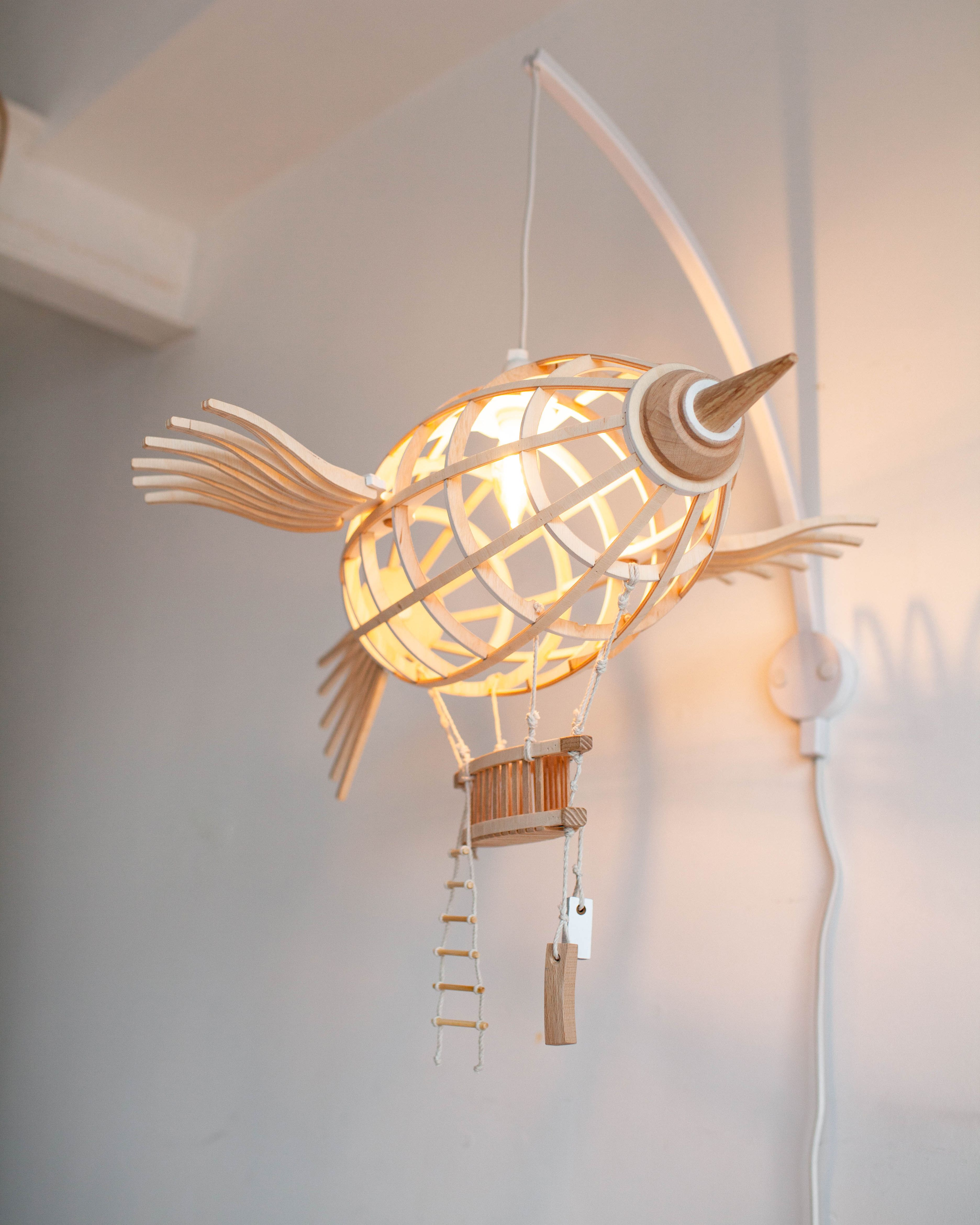 Pin By Mererid Thomas On Interiors With Images Lamp Wooden Brackets Flying Ship