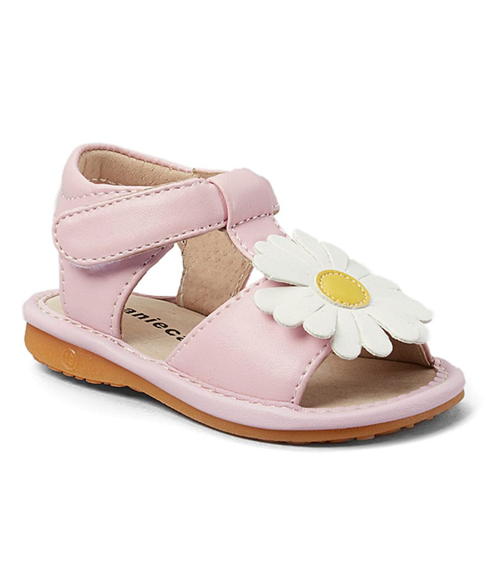 f86e5f0cf9 Another great find on  zulily! Laniecakes Light Pink Daisy Squeaker Sandal  by Laniecakes  zulilyfinds