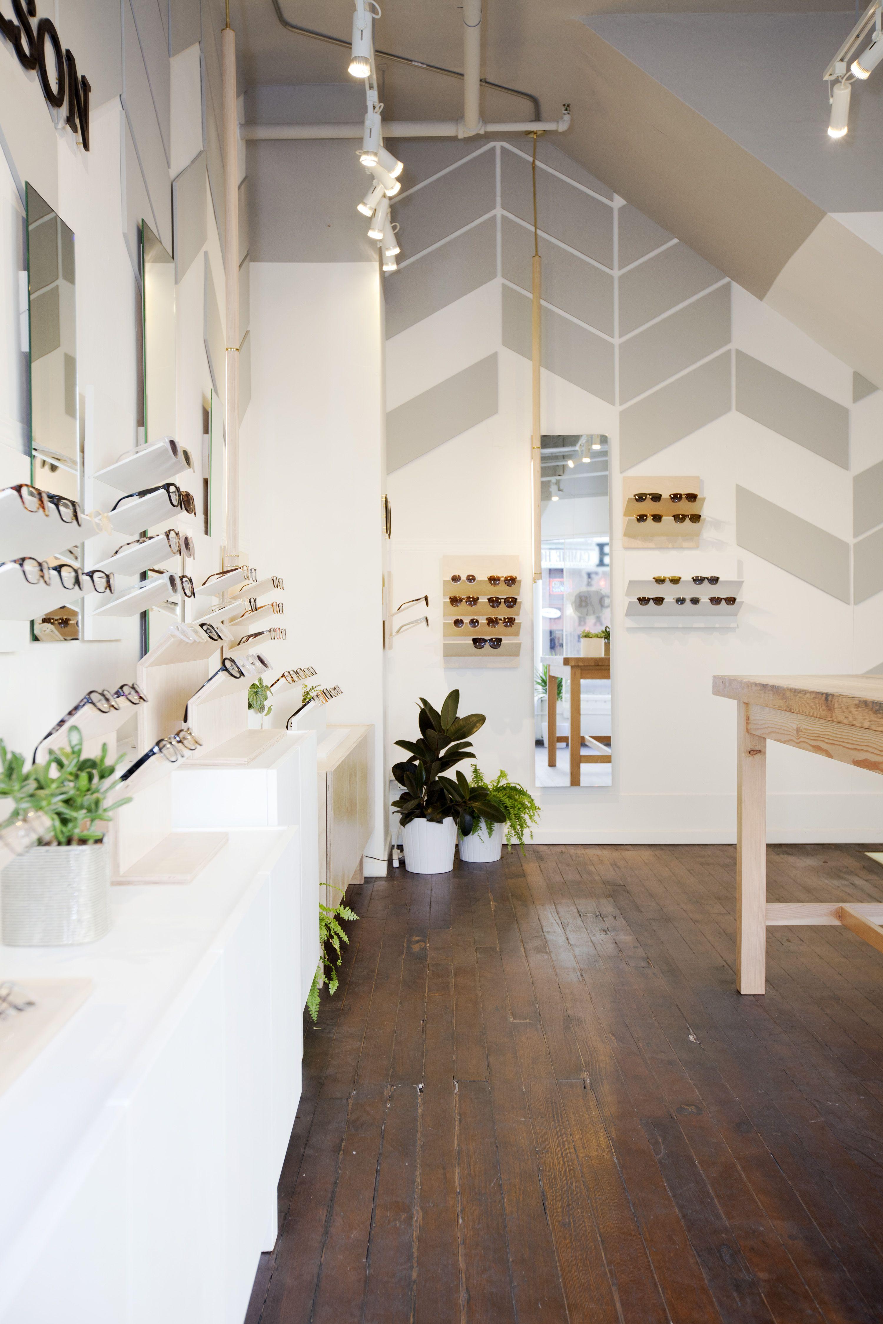 The 550 square foot flagship shop for Australian eyewear