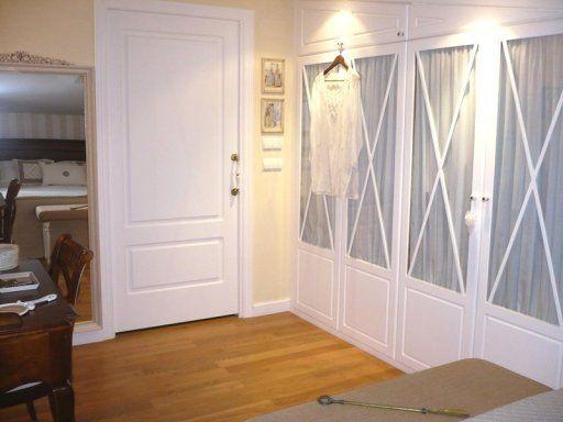 Armario o puertas blancas puertas pinterest puertas for Armarios de habitacion