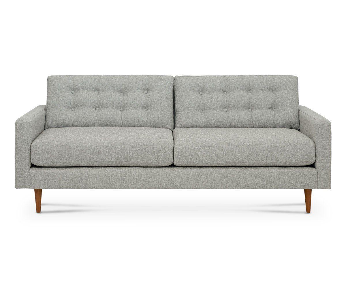 Stupendous Everly Sofa Smoke Ideas In 2019 Sofa Modern Leather Theyellowbook Wood Chair Design Ideas Theyellowbookinfo