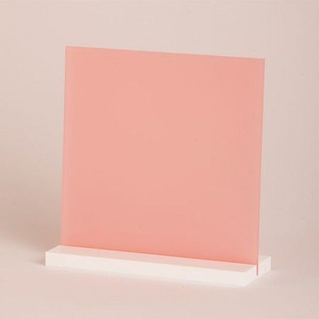 pink frosted acrylic sheet | Trade + Show in 2019 | Acrylic