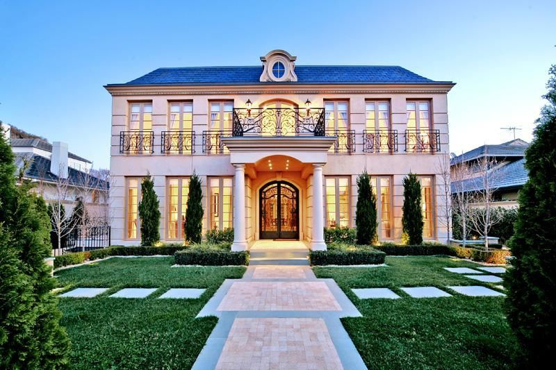 Love The French Provincial Style Mansions French Style Homes