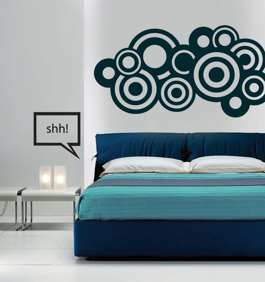 este vinilo decorativo con un diseño abstracto se vería padrísimo