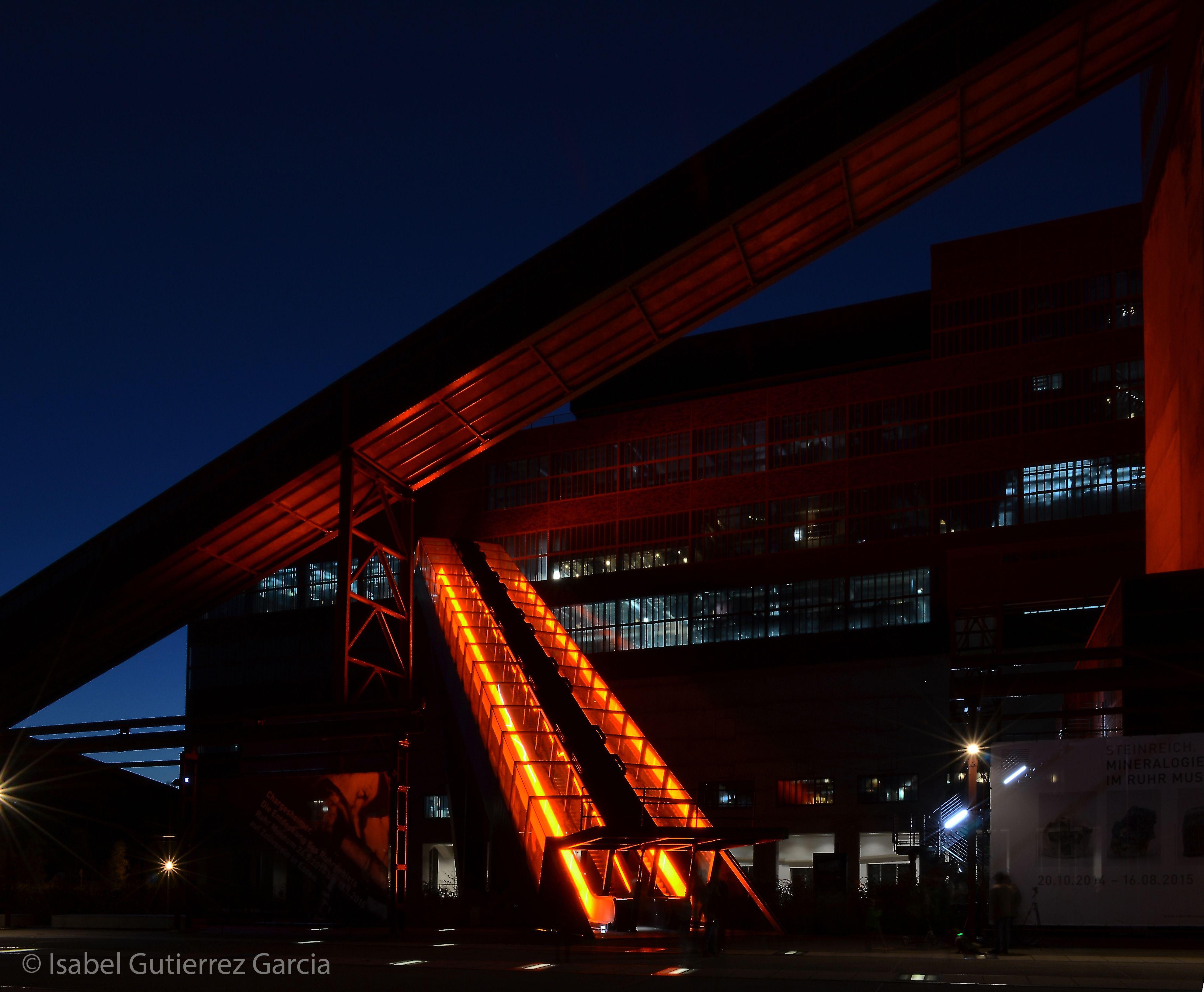 Eingang - Ruhr Museum -Zeche Zollverein