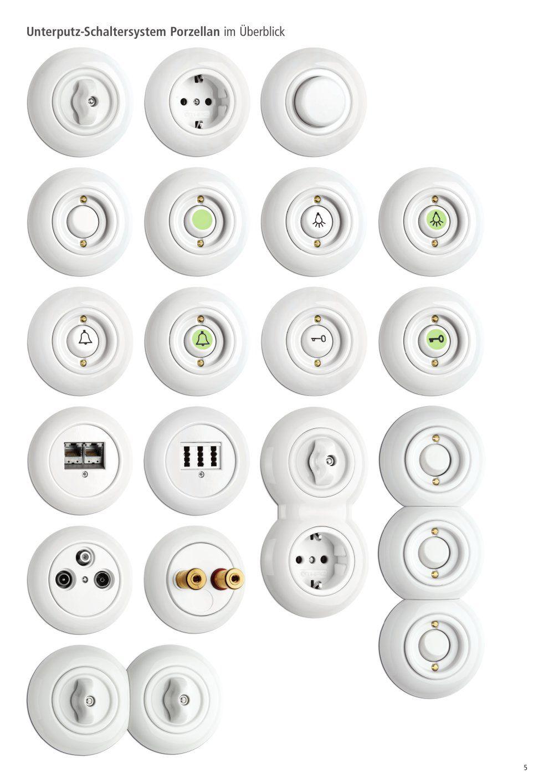 Thpg Schaltersysteme Steckdosen Und Lichtschalter Lichtschalter Schalter