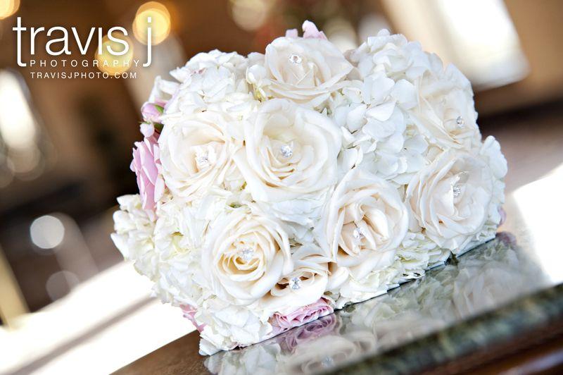 White Bride bouquet, Tavis J Photography, Colorado