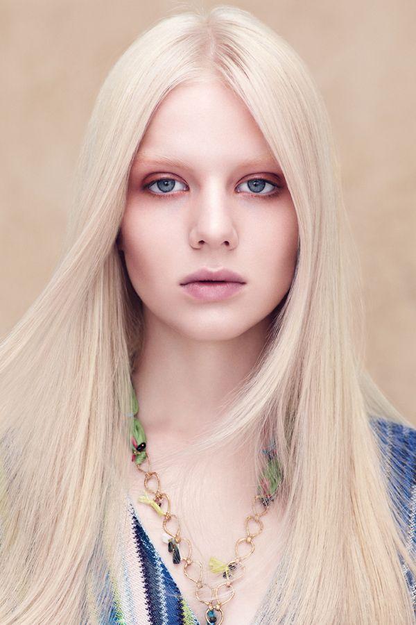 Trendfrisuren 2014 | Hellblonde haare, Lange blonde haare