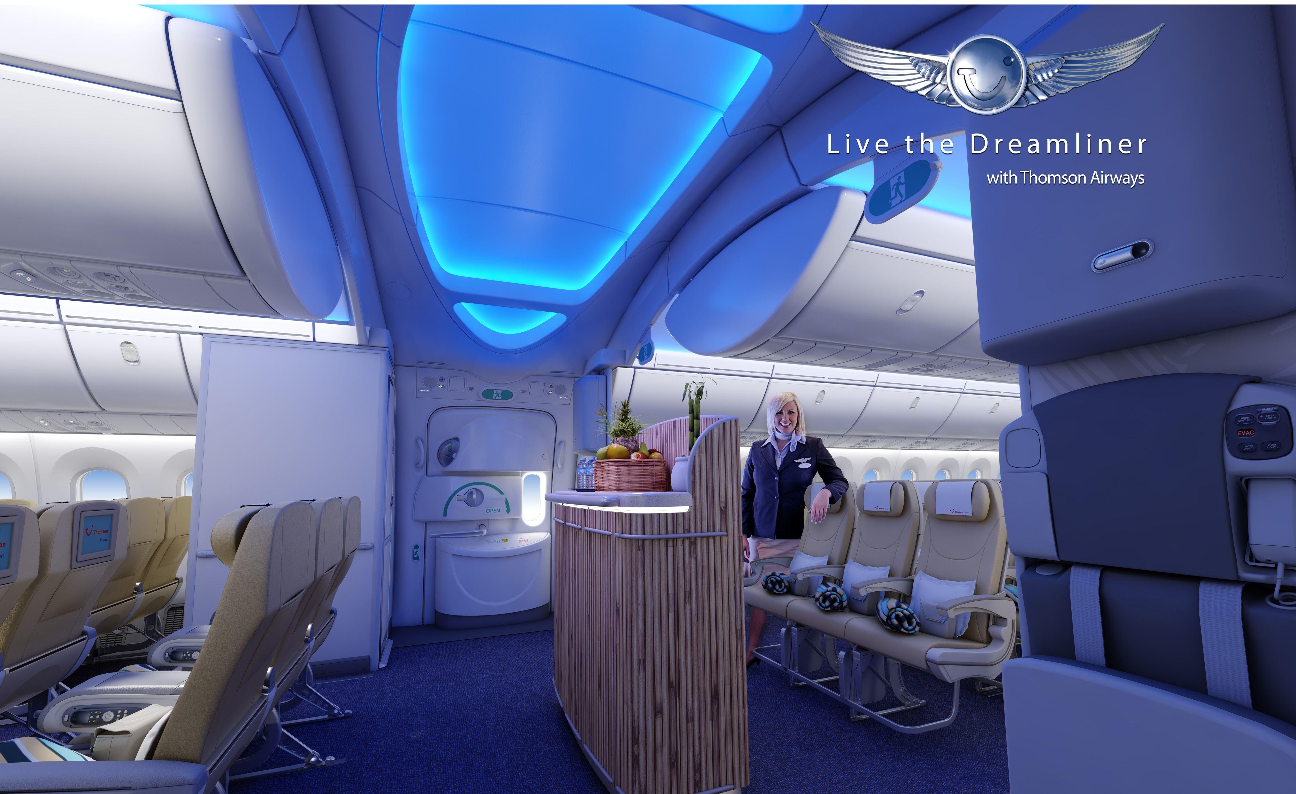 787 Dreamliner Interior   787+dreamliner+cabin+interior