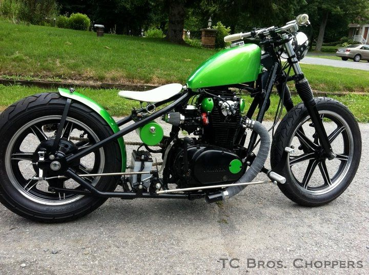 Custom Choppers and Bobbers Built with TC Bros. Choppers Products | Custom Motorcycles