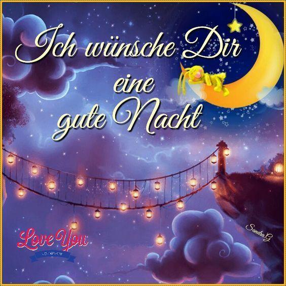ich wünsche dir eine gute nacht bilder - Schönes Bilder-GB