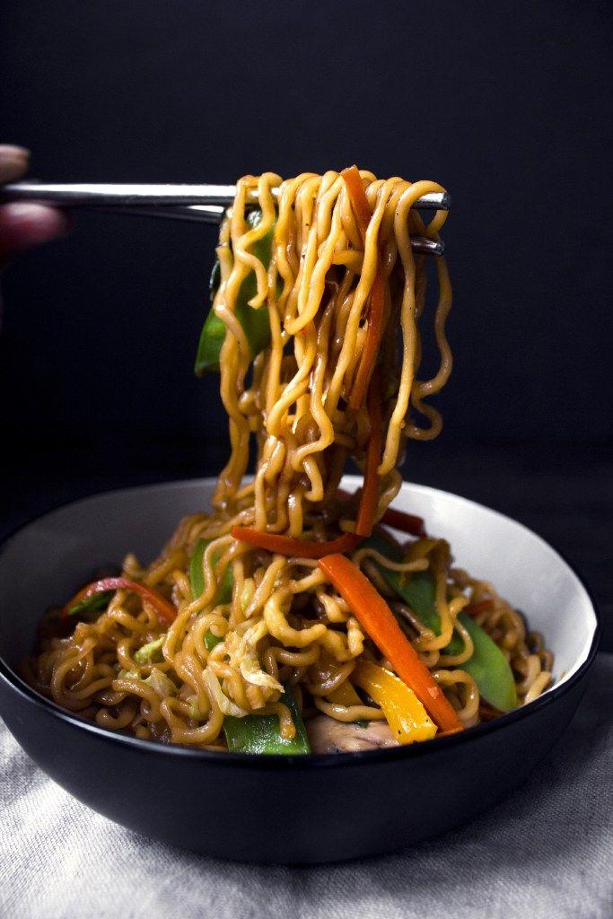 Teriyaki Veggie & Noodle Stir-Fry