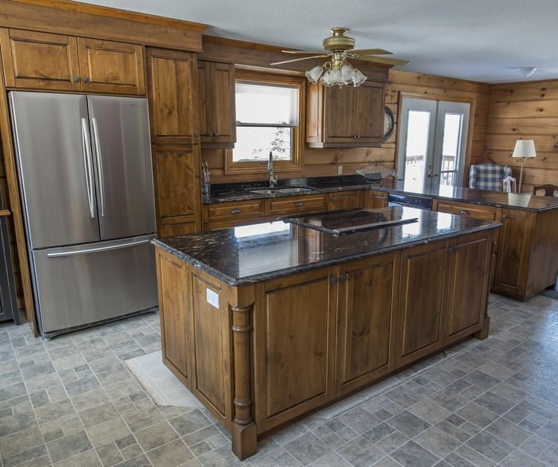 Knotty Pine Kitchen Cabinets Wholesale: Knotty Pine Kitchen Products Are Available At The Cutter's
