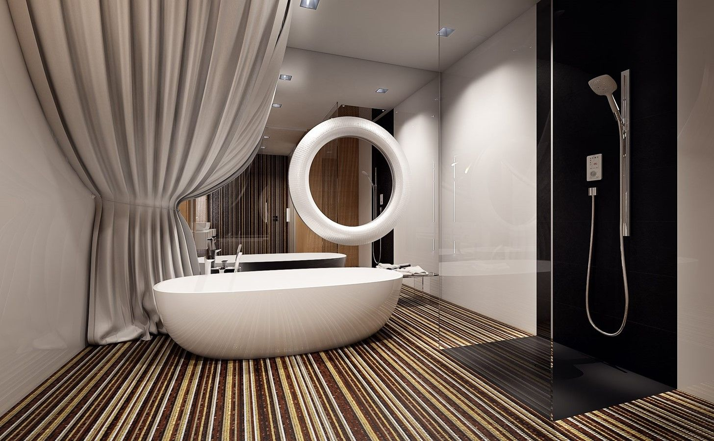 Łazienka z włoską mozaiką - Inspiracja - HomeSquare w 2020 ...