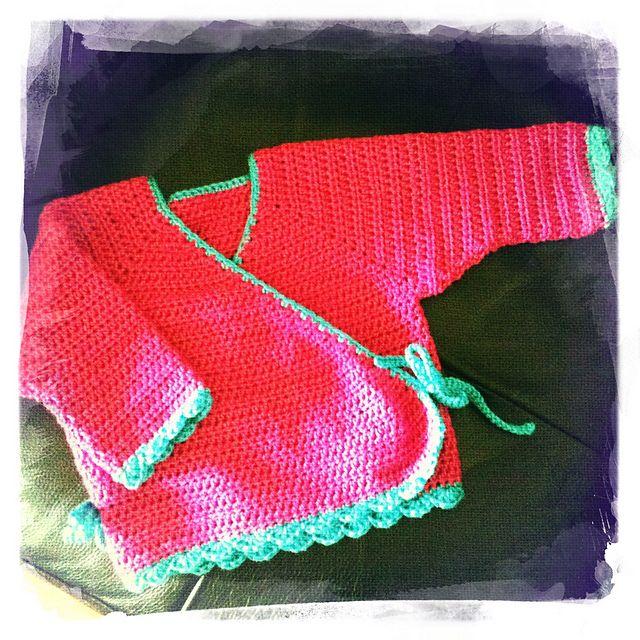 Kimono Wrap, free pattern by Susanne Visch | Knitting/Crocheting ...