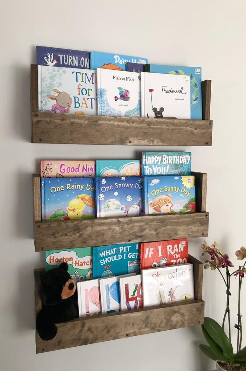 Home Tour Our Playroom On A Budget Her Happy Home Kids Book Storage Playroom Storage Ikea Hack Kids
