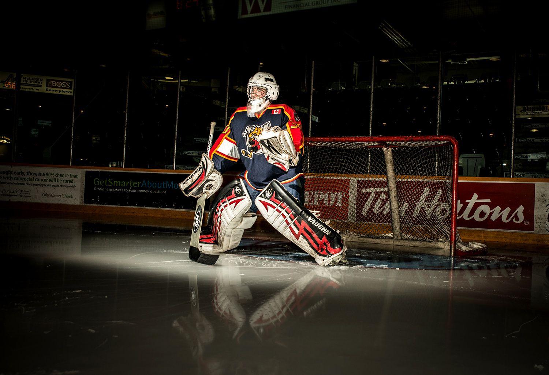 barrie colts minor hockey goalie photo vaughn barry photography