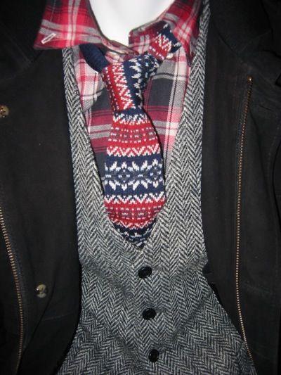 Fair Isle Tie For The Holidays | My Style | Pinterest | Brooks ...