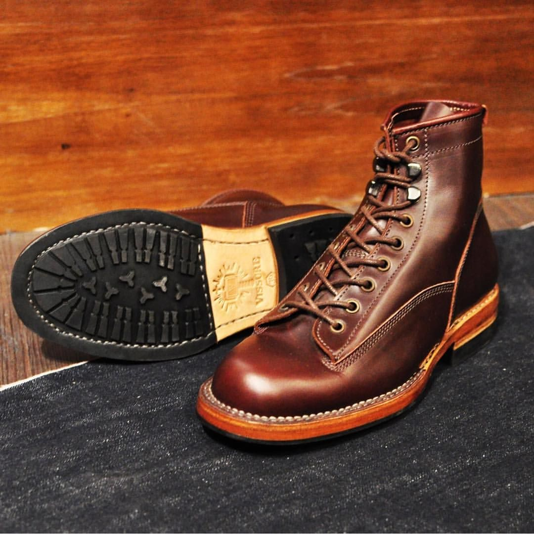Sargent Lace To Toe Boots In Oxblood Pull Up By Vissure Bootmaker Vissure On Instagram Shoe Boots Boots Footwear
