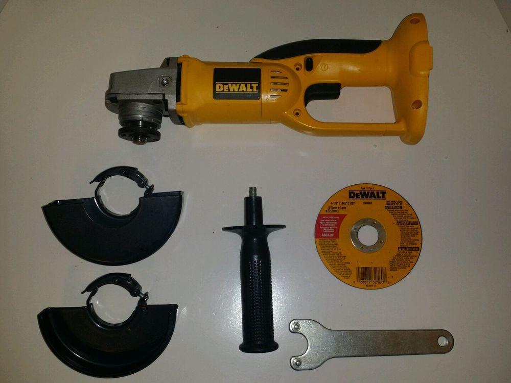 Dewalt dc410 grinder upside down soap dispenser
