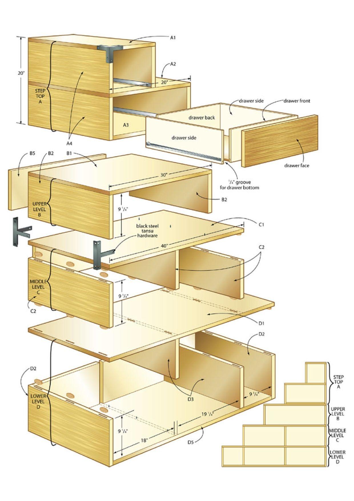 Build A Tansu Chest