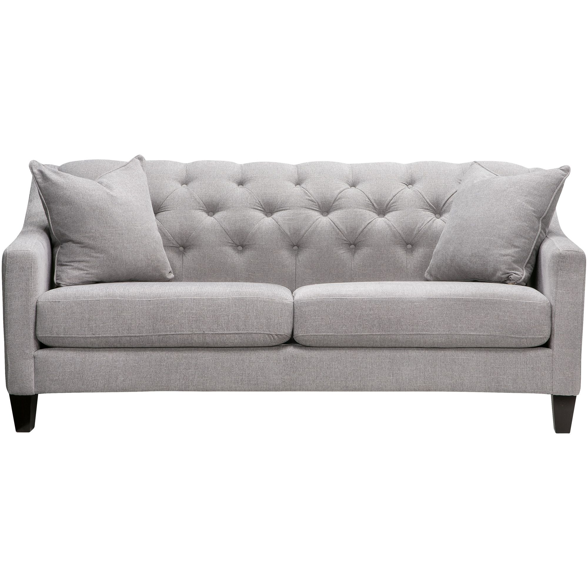 Solo Burlap Sofa in 2019 | Silver sofa, Sofa, Furniture