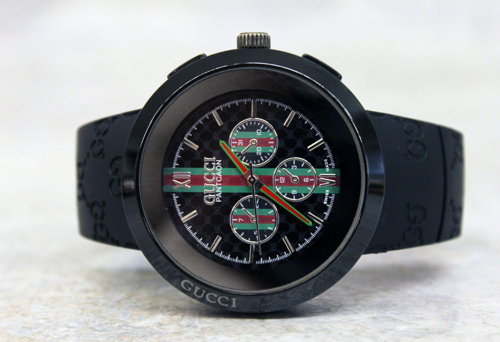 23109d15e82 Gucci Pantcaon Watch Swiss Made