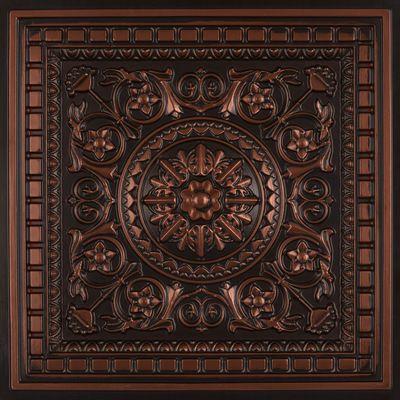 Da Vinci Faux Tin Coffered Ceiling