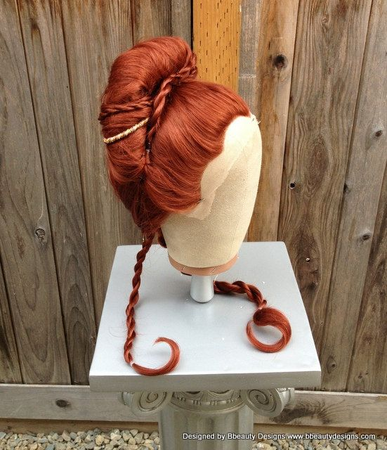 Sansa Stark Game of Thones Style Lace Front Inspired Wig Hair Screen Quality Styled on Etsy, $225.00