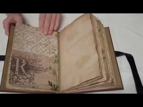 Vintage Wallflower Junk Journal For Sale Youtube Vintage Junk Journal Vintage Journal Vintage Paper Crafts