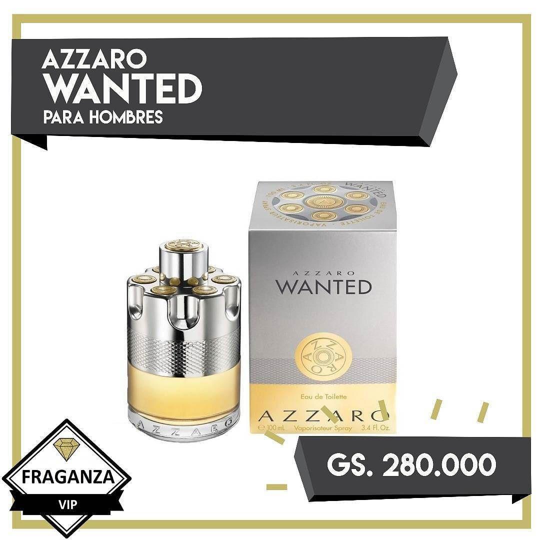 3d5a3222bea No hay fragancia más masculina que Wanted de Azzaro para Hombres la cual  puedes adquirir por solo Gs. 280.000 Oferta!  fraganzavip  fragancia   colonia ...