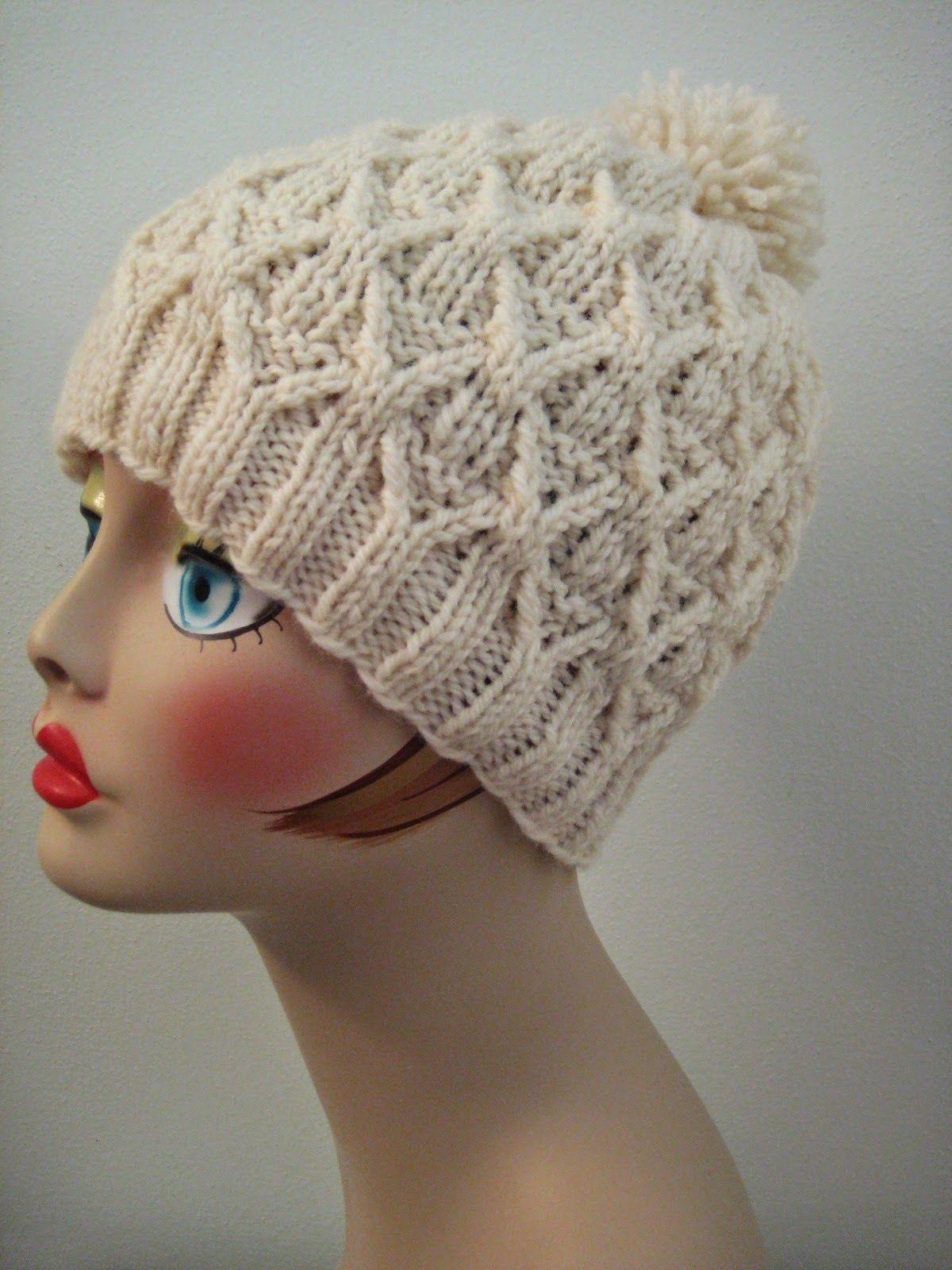 free hat pattern, free knitting pattern, Patons Classic Wool pattern ...