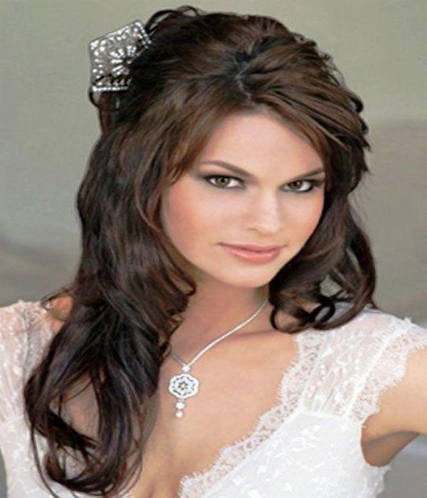 Beautiful Pretty Wedding Bridal Hairstyle