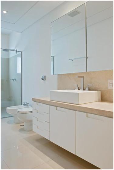 Armario Superior Com Espelho Para Banheiro : Ap? da ka banheiros espelho com arm?rios