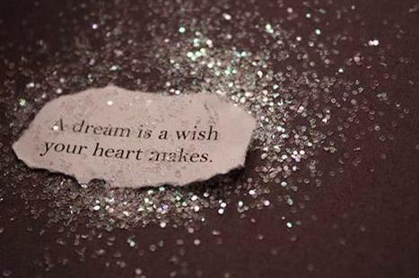 Mijn droom is een wens mijn hart maakt het waar!