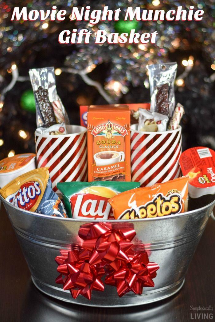 Movie Night Munchie Gift Basket