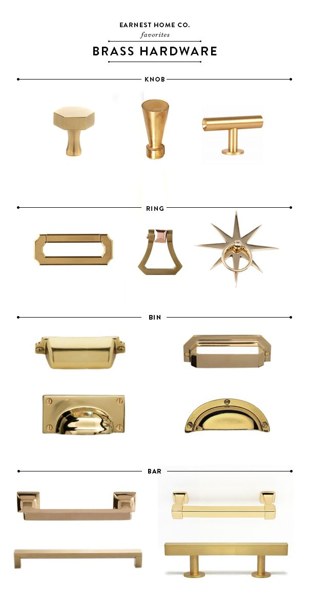 brass kitchen pulls hardware best erin souder discusses the in her farmhouse renovation