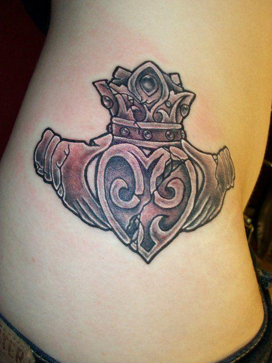 Awesome claddagh tattoo!