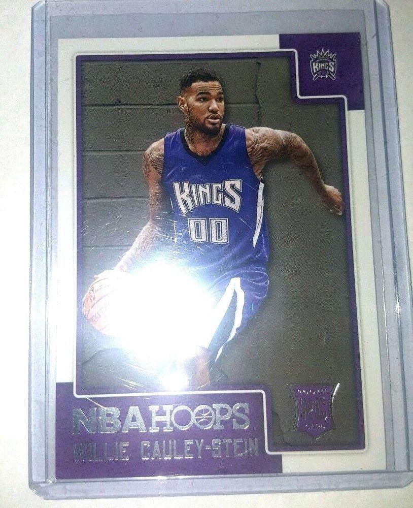 Willie CauleyStein 201516 Panini NBA Hoops Rookie Card