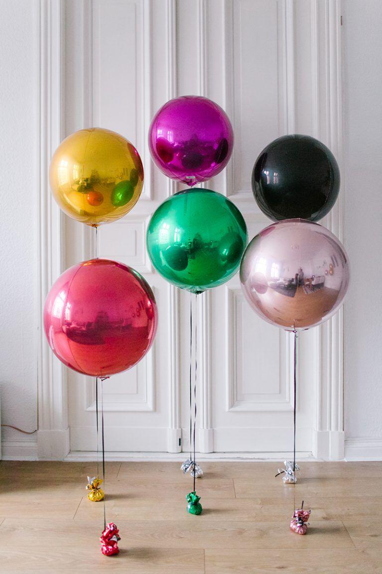 Metallic Ballons für die Hochzeit Ballons hochzeit
