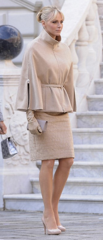 I love a purely neutral outfit.