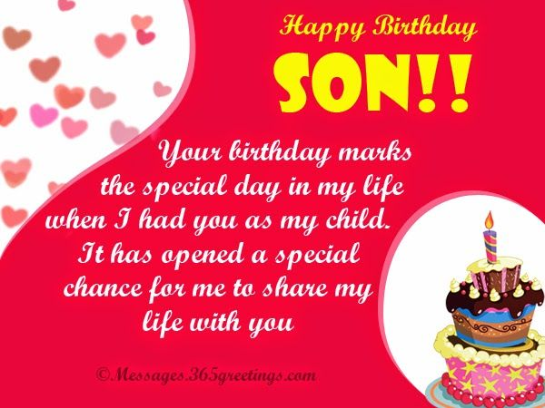 Birthday Son Graphics Images Pictures Wishes And Quotes