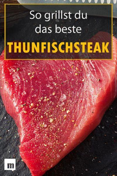 Thunfisch grillen: So gelingt das perfekte Grill-Steak