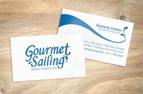 Gourmet sailing business cards sailing pinterest sailing business cards reheart Image collections