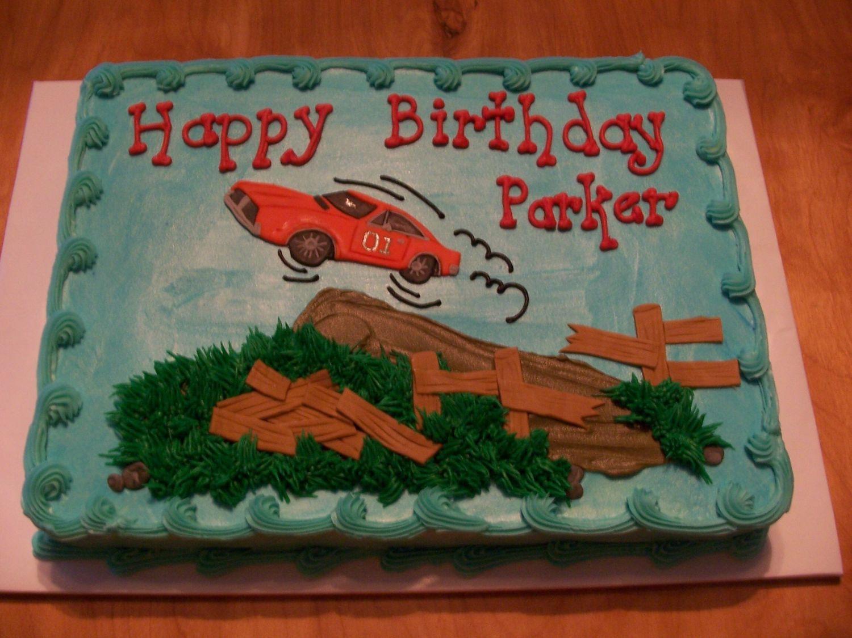 Dukes Of Hazzard Birthday Cake Dukes Of Hazzard Childrens